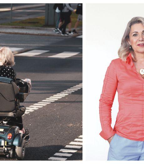 Op mijn scootmobiel naar het fitnesscentrum in Zevenbergen: nee, bedankt