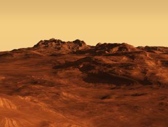 Duizenden verborgen gletsjers van ijs op Mars
