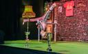 De voorstelling van E3 ging traditiegetrouw gepaard met een hele show.