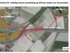 Nieuwe aansluiting A58 beste oplossing voor Arnemuiden