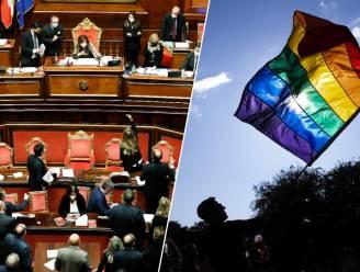 """Italië schrapt wet die LGBTQ+-gemeenschap moest beschermen: """"De wet is dood"""""""