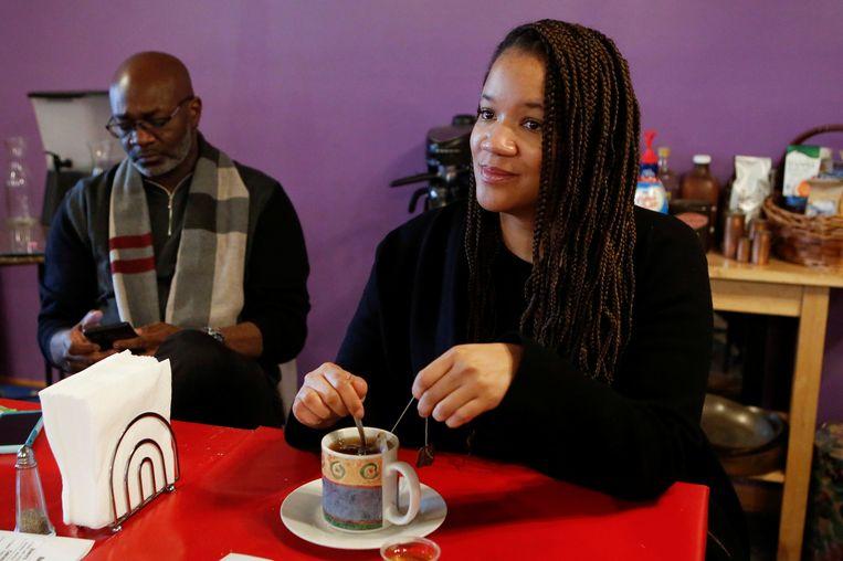 Raadslid Robin Rue Simmons bedacht het herstelbetalingenlpan: 'een vorm van genoegdoening'. Beeld REUTERS