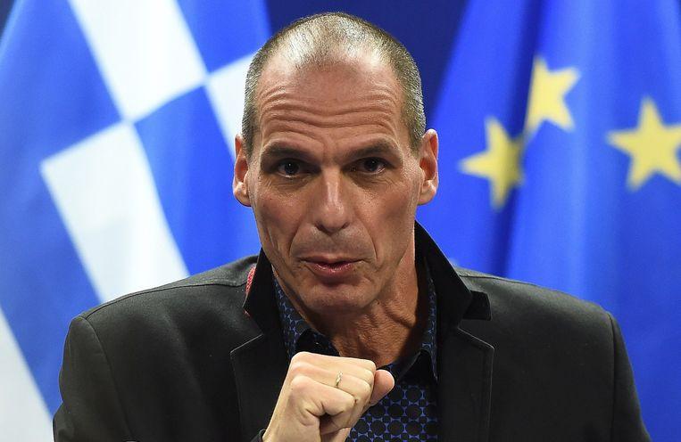 Varoufakis. Beeld afp