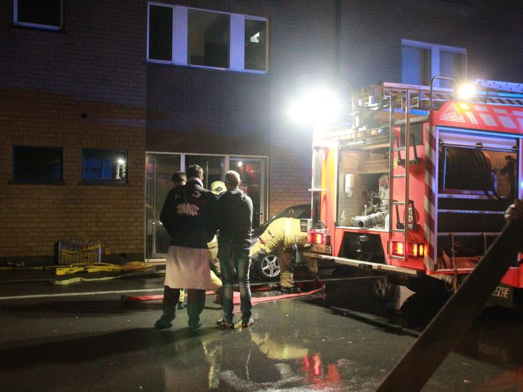 Brand in een appartement in Poperinge