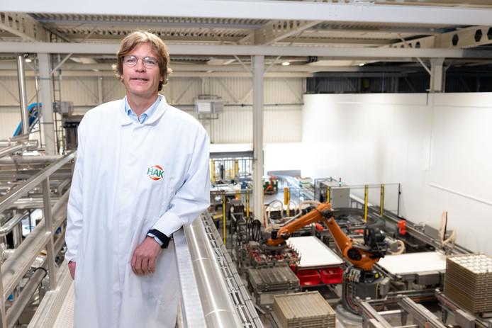 """Timo Hoogeboom, algemeen directeur van HAK: ,,De verkoop van peulvruchten stijgt elk jaar met 7 procent."""""""