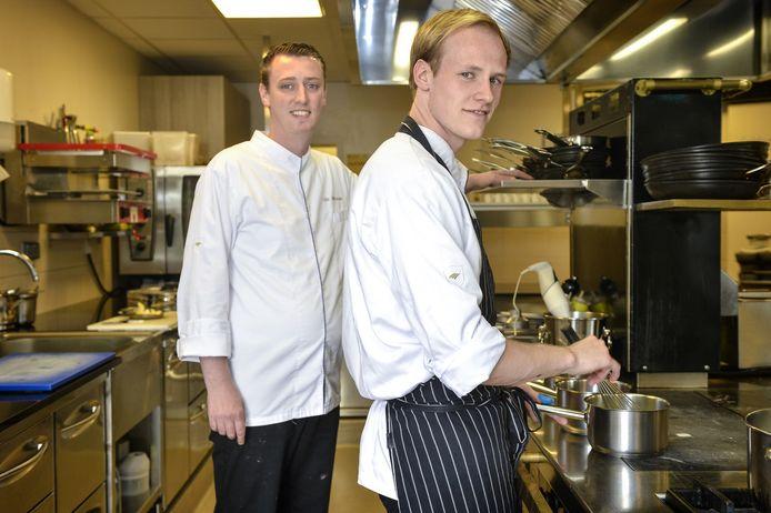Wim Van Hecke (rechts), was in het verleden souschef van Fleur de Lin bij chef-kok Lode De Roover.