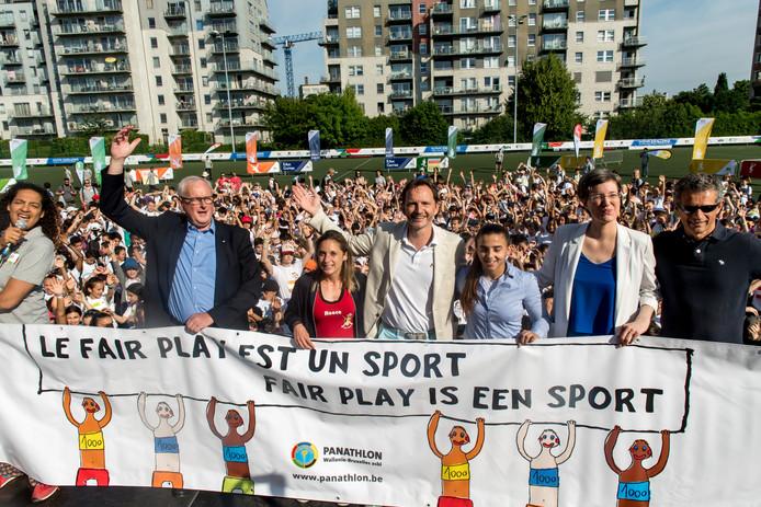 C'est parti pour la première édition des Brussels Urban Youth Games à Molenbeek.