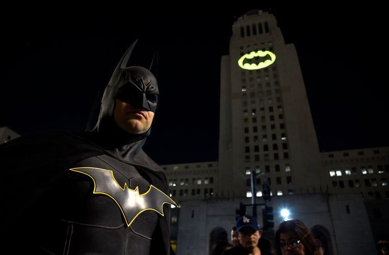 Of op het stadhuis van Los Angeles. Beeld Chris Pizzello/Invision/AP