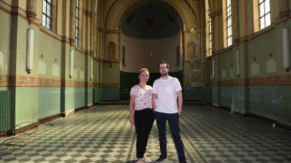 Voor gebouw herbestemming krijgt: Leuvenaars Stéphanie en Andreas openen nieuwe pop-upbar in verlaten klooster van de Broeders van Liefde