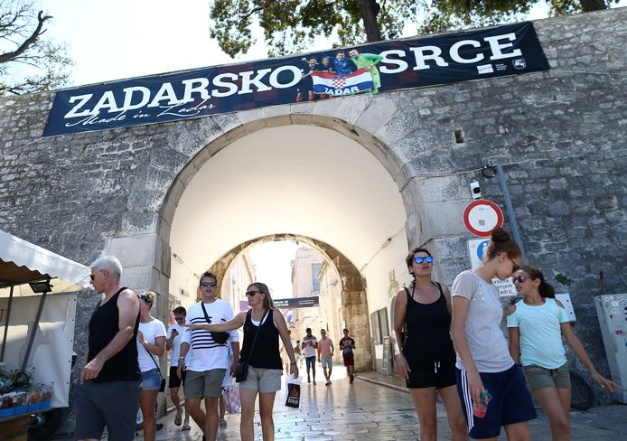 Zadar in Kroatië.