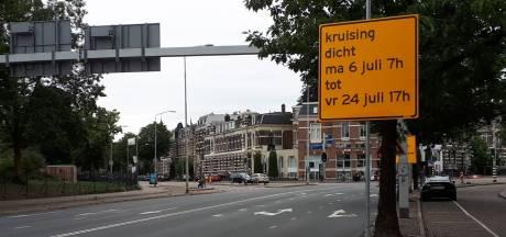 Werk aan St. Annastraat: verkeer moet omrijden