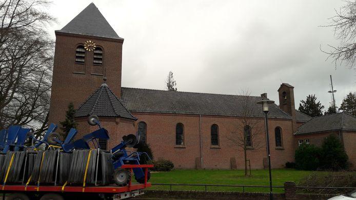 Olland hoopt dat er woningen komen in de voormalige Martinuskerk.