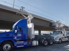 Amerika test e-Highway voor vrachtverkeer