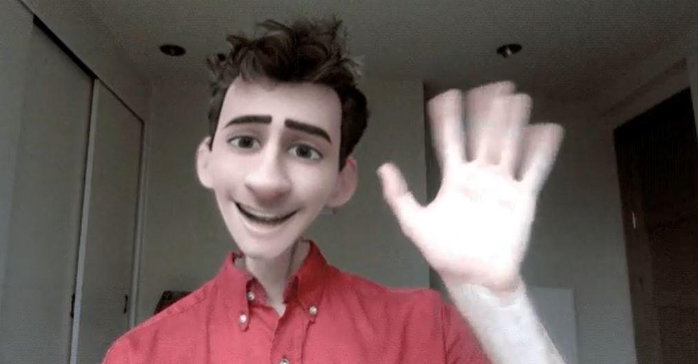 Le filtre vous transforme en une création venue de Pixar, et le résultat est particulièrement saisissant