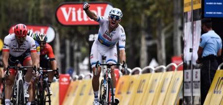 Kristoff sprint naar ritzege in Parijs, Thomas wint Tour