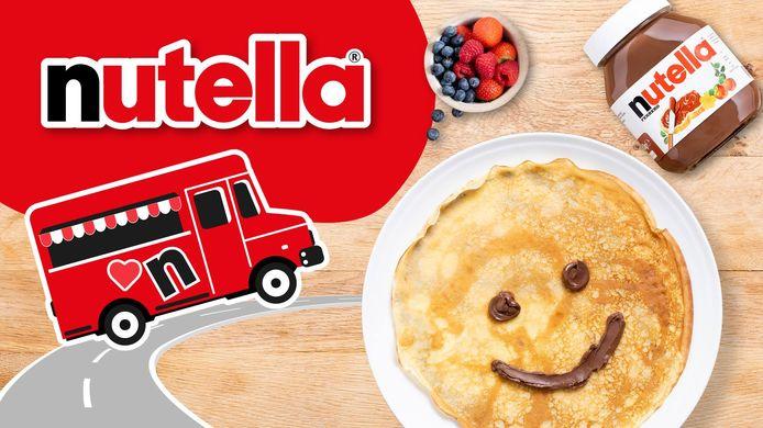Zaterdag deelt Nutella tussen 11 en 17 uur gratis pannenkoeken uit in Brussel.