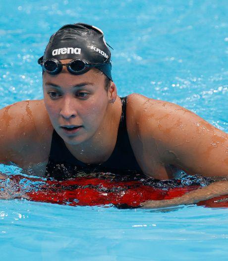 Kromowidjojo skipt swim-off na slechte 100 meter: 'Het was een shit-keuze'