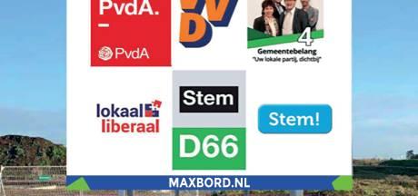 Verkiezingsborden beplakken met lijm en kwast? In Rijssen-Holten gaat het digitaal