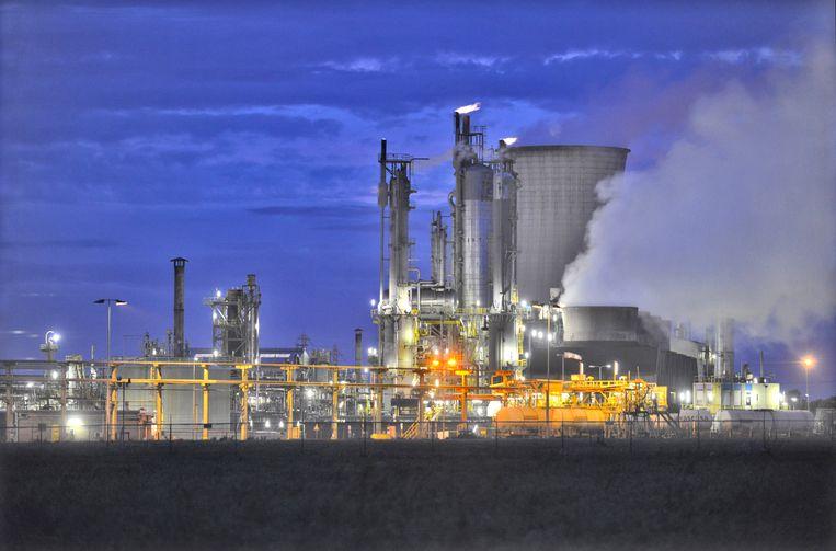 Chemische fabriek van DSM.  Beeld Hollandse Hoogte, Flip Franssen