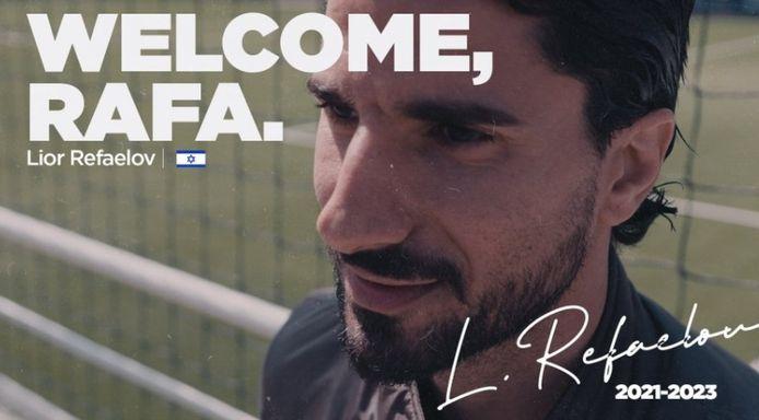 Rafaelov s'est engagé pour deux saisons avec Anderlecht.