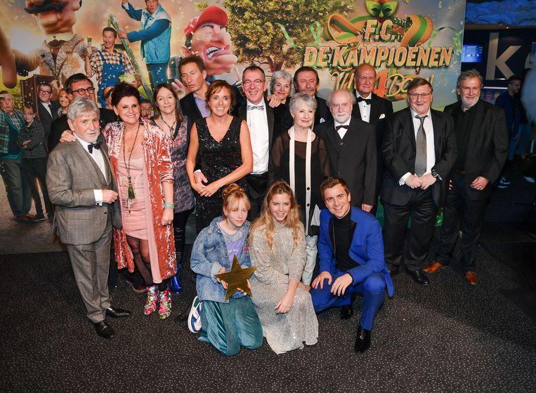 De première van de Kampioenen-film 'Viva Boma', de uitzondering in een weinig succesvol 2019 voor onze cinema.  Beeld Joel Hoylaerts / Photo News