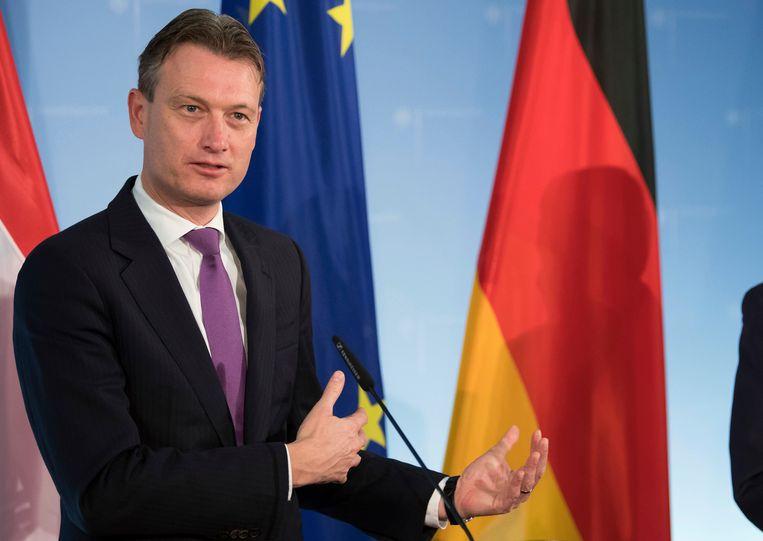 De Nederlandse minister van Buitenlandse Zaken Halbe Zijlstra Beeld AP