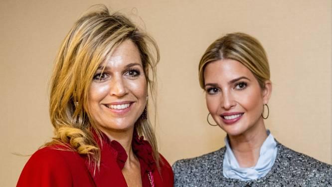 Koningin Maxima en Ivanka Trump maken opwachting: top voor ondernemers in Den Haag wordt geopend