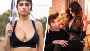 Treurnis alom: 'Zwarte Weduwe van de Sport' en ex-pornoster Mia Khalifa is verloofd