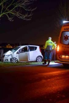 Gewonde bij ongeluk op Postweg bij Tholen