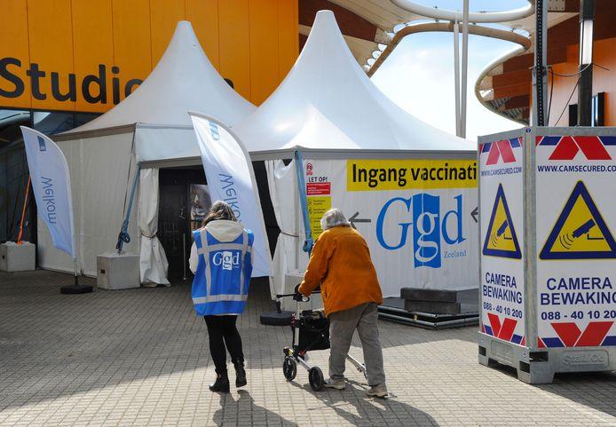 Vaccinatiestraat in Middelburg