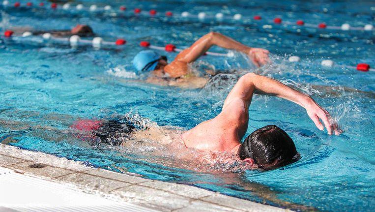 Zwemmen tijdens de Nationale Sportweek kan bij Gay Swim Amsterdam Beeld anp