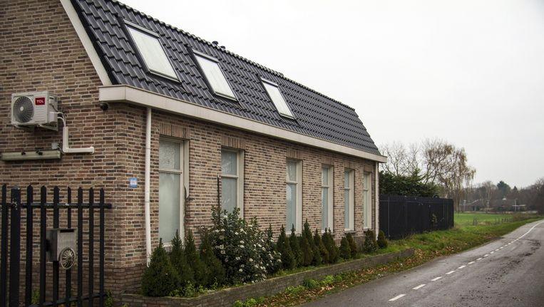 Het clubhuis van motorclub No Surrender in de gemeente Zundert. Beeld anp
