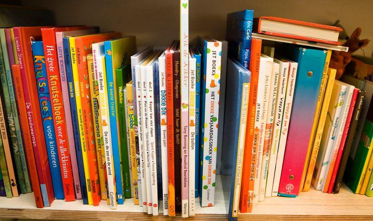 De Boon looft elk jaar ook een prijs voor jeugdliteratuur uit. Beeld ANP XTRA