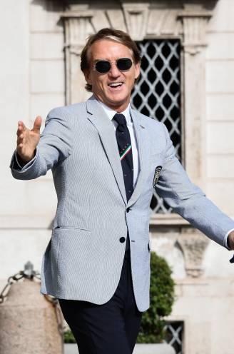 """Roberto Mancini en zijn Armani: """"Een pak als zijn voetbalploeg, niet omver te krijgen"""""""