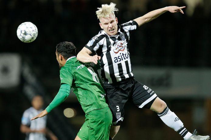 Lennart Czyborra is een belangrijke speler geworden bij Heracles.