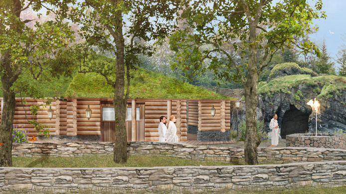 Thermen Soesterbeg is het voorbeeld voor de saunacomplex in De Berendonck.