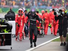Wolff begrijpt boze Hamilton: 'Het was een close call, maar het ging mis'