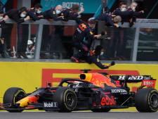 Verstappen prijst zichzelf gelukkig na spectaculaire race: 'Maar het seizoen is nog lang'