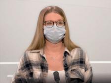 """Gaëlle, puéricultrice de 23 ans, ne respecte pas les mesures sanitaires: """"À Noël, on sera en famille"""""""