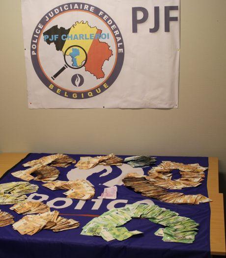 Cocaïne, cannabis, argent... La police réussit une belle saisie à Charleroi