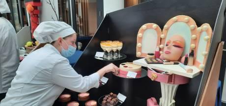 Kunstzinnige taarten en fraai chocoladewerk bij  Summa; 'Ik had het zelf wel op willen eten'