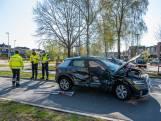 Aanrijding met twee auto's in Goirle: één bestuurder gewond