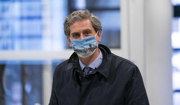 Voorzitter Wouter Kolff van de Veiligheidsregio Zuid-Holland Zuid: ,,Opening van terrassen over twee weken is denkbaar.''