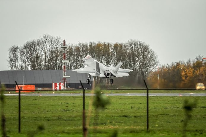 Vliegbasis Leeuwarden.