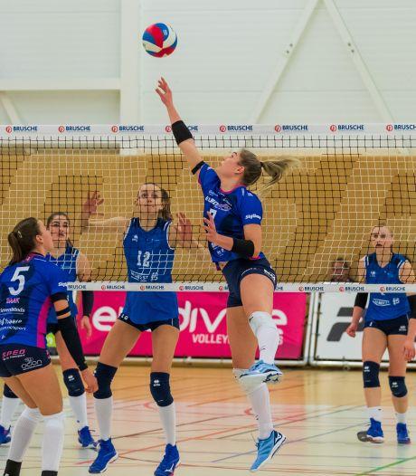 Volleybalsters Eurosped grijpen naast kampioenspoule