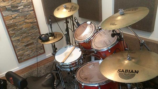 Foto van de Facebook-site van drummer Cor Schilder.