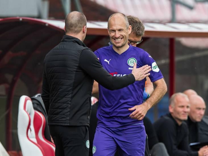 FC Groningen-trainer Buijs begrijpt keuze van Robben om te stoppen