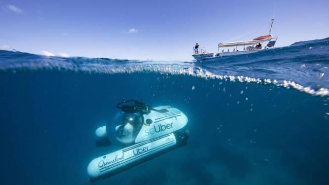 Opmerkelijk aanbod van Uber: ontdek de pracht van het Great Barrier Reef in een duikboot
