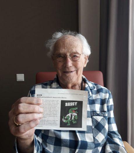 WDS-supporter Bas van Vliet (91) trots op mascotte Bassy