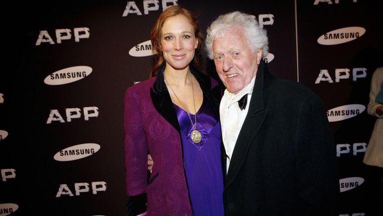 John Leddy met zijn dochter Rixt Beeld anp